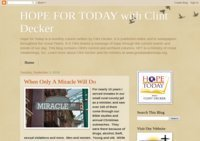 HOPE FOR TODAY with Clint Decker