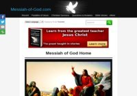 Messiah-of-God.com | Jesus Christ, Sermons, Parables