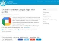 Jumble. Simple email security