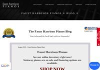 Faust Harrison Pianos Blog