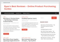 Ryan's Best Reviews - Online Purchasing Guides for Top Products