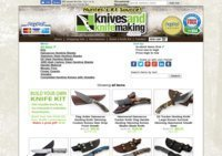 KnivesAndKnifeMaking.com - Damascus Hunting Knives, Folding Pocket Knives, Damascus Knife Blanks and Steel Blades and Knife-Maker Supplies