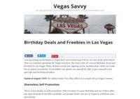 Vegas Savvy