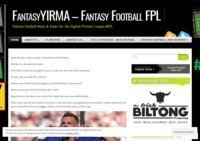 Fantasy Yirma: Fantasy Football news, views, and insight