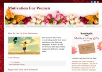 Motivation For Women Blog