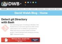 David Walsh - Software Development Blog