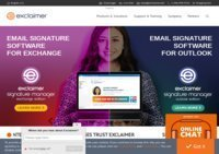 Exclaimer - Market Leader in Email Signature and Email Archiving Software