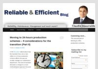 Reliable and Efficient Blog