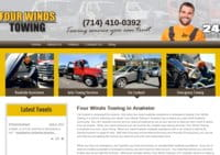 Premium Towing & Roadside Assistance Services in Anaheim - Four Winds Towing