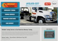 Reliable Towing Service in San Rafael by Newway Towing