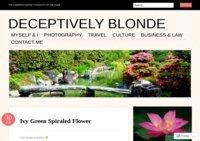 Deceptively Blonde (Blog)