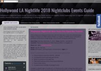Hollywood LA Nightlife 2017 Nightclubs Events Guide