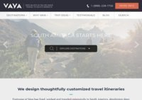 Vaya Adventures | Trips to South America