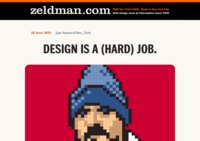 Jeffrey Zeldman Web Design Blog