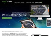 NYC Website Design Agency - MaxBurst